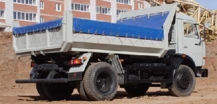 KAMAZ 43255 autobasculantă nou