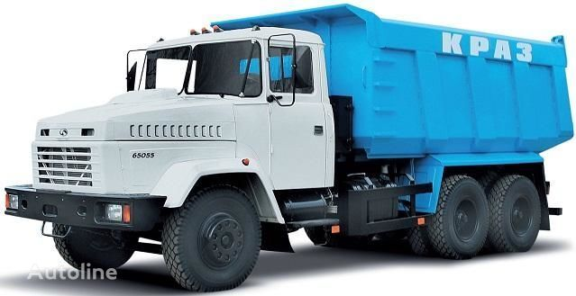 KRAZ 65055 autobasculantă