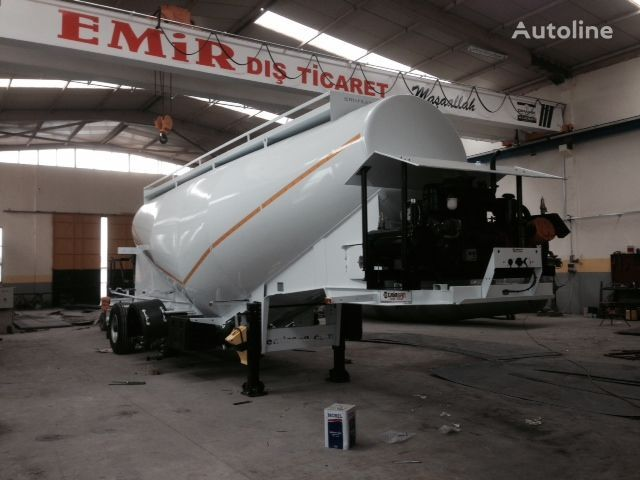 EMIRSAN Direct from Factory Customized Cement Tankers , Brand NEw  cisternă transport ciment