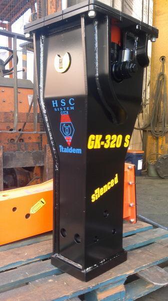 ITALDEM GK 320S ciocan hidraulic nou