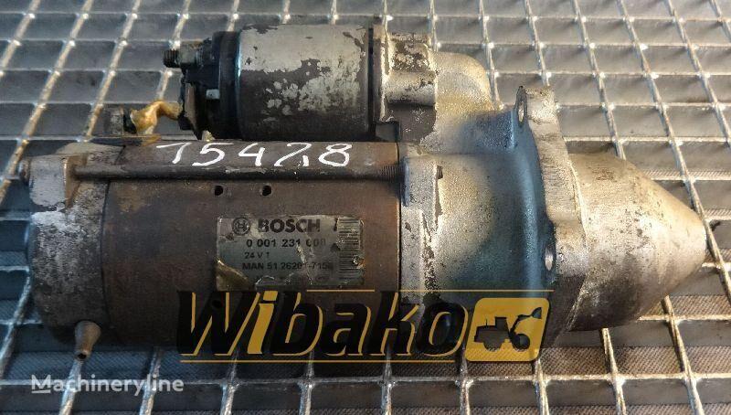 Starter Bosch 0001231008 electromotor de pornire pentru 0001231008 alte mașini de construcții