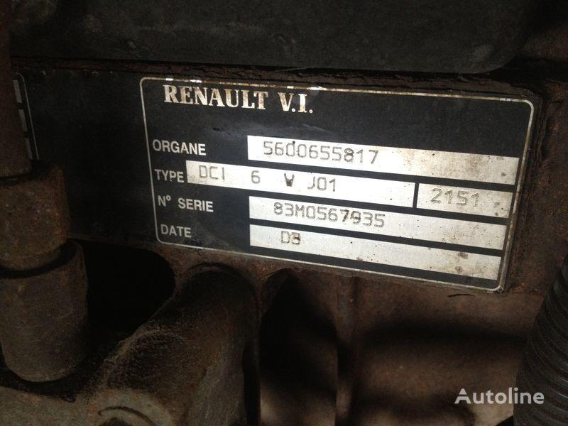 Renault dci 6v j01 motor pentru RENAULT 220.250.270 camion