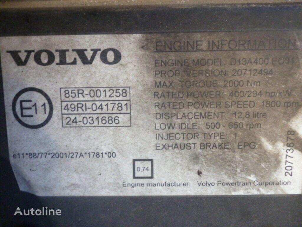 Volvo D13A400 EC01 motor pentru VOLVO camion