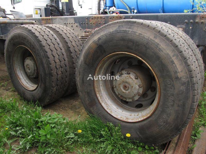 TYLNE MOSTY TANDEM, 2 X REAR DIFFERENTIAL MAN 8X4 8X8 punte motoare pentru MAN 35-414 F2000 8X4 camion