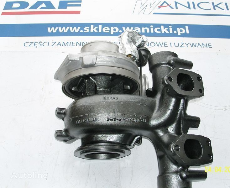 DAF TURBO TURBINA,REGENEROWANA, Turbocharger, EURO 5, turbocompresor pentru DAF  XF 105, CF 85  autotractor