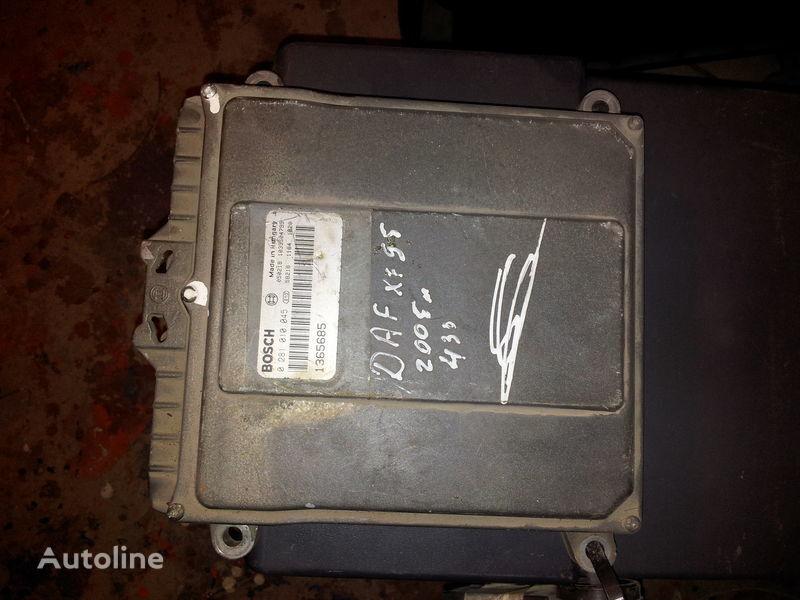 DAF 95XF, 85LF, 75LF, EURO3 ECU EDC engine control BOSH 0281010045; 1365685, 1684367, 1679021 unitate de control pentru DAF 95XF autotractor