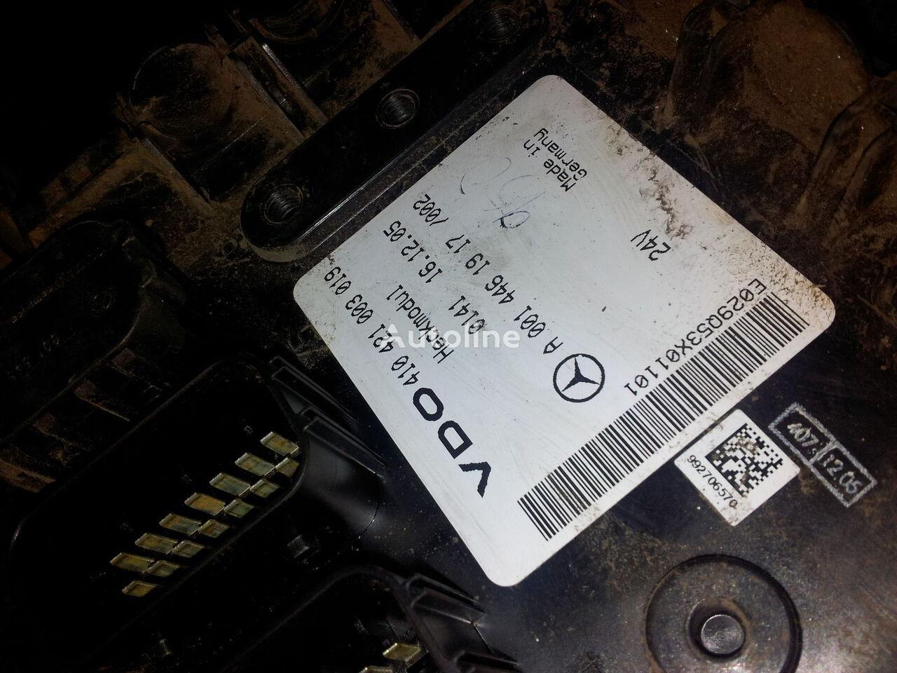 MB Actros MP2, MP3, Heckmodul, control unit, EDC, ECU, rear module electronics, 0014461917, 0014462817, 0014462017,0014461917,0014462717,0014461617, 41021003020, 410421003019, 0014462817 unitate de control pentru MERCEDES-BENZ Actros MP2; MP3 autotractor