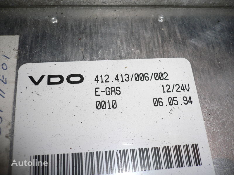 VDO 412.413/006/002 unitate de control pentru SCANIA b10 autobuz