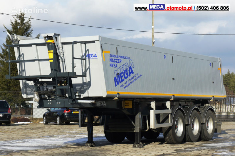 MEGA 30 m³ - SUPER LIGHT - 5,300 KG - SUPER PRICE !!! READY !!! semiremorcă basculantă nouă