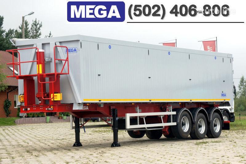 MEGA 50/11300 KD - camosval 50 kub., pama k tyagachu 6x4, VYSOTA 3,00 m semiremorcă basculantă nouă