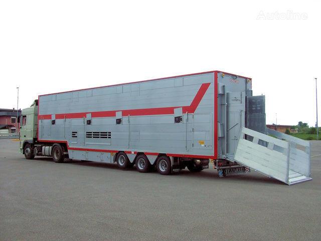 PEZZAIOLI SBA31 1+2 semiremorcă transport animale nouă