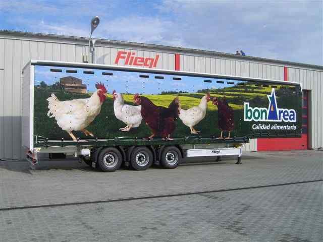 FLIEGL SDS 350 Geflugel semiremorcă transport păsări nouă