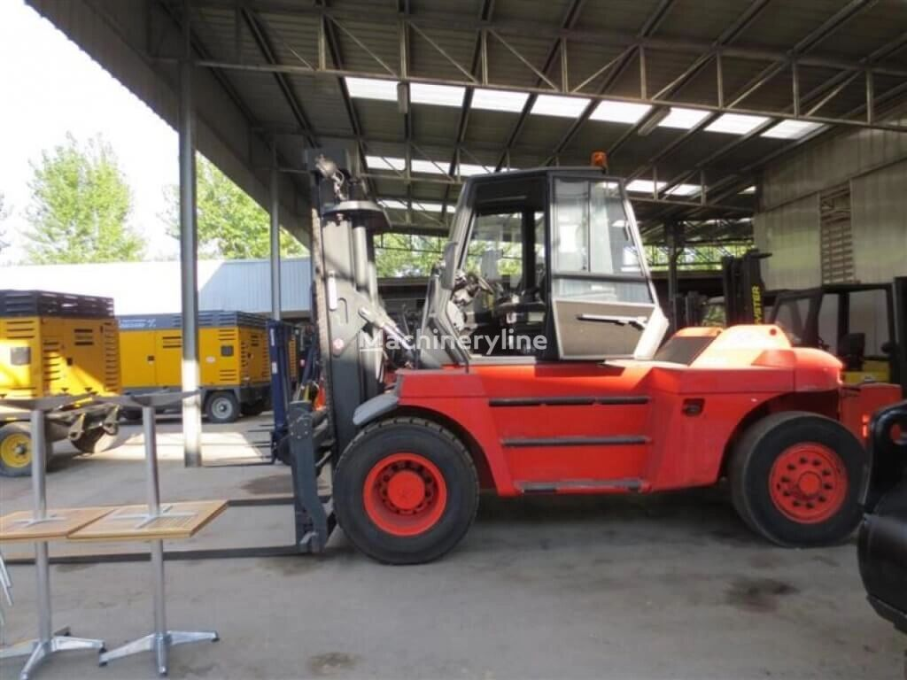 LINDE H100 stivuitor containere