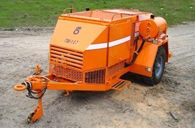 PM 107 Recikler asfaltobetona alte mașini de construcții nou