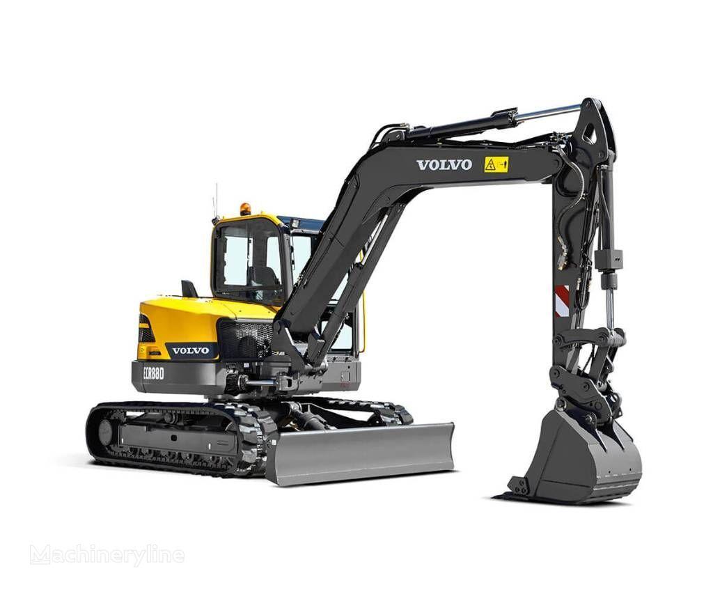 VOLVO ECR88D excavator pe şenile