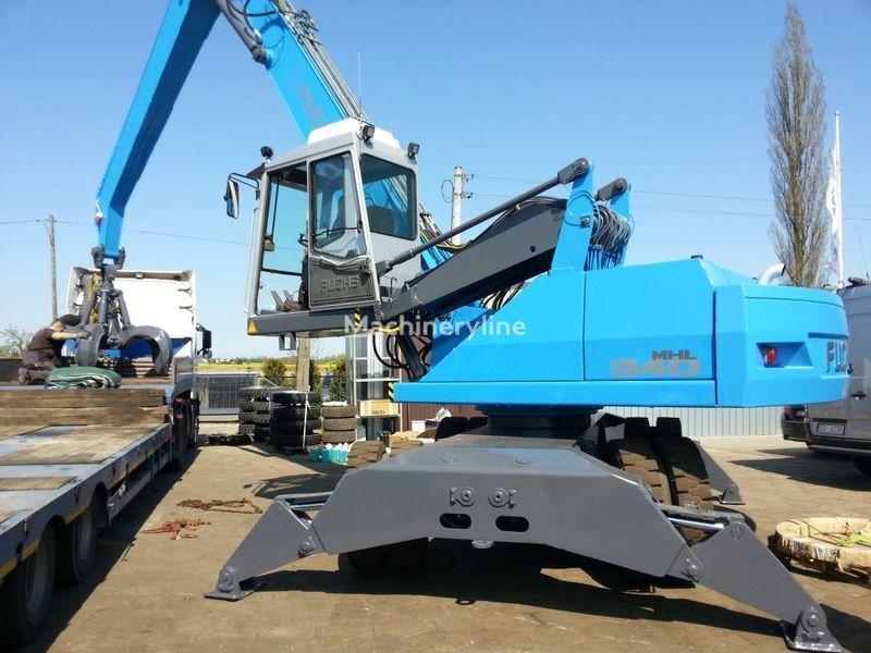 FUCHS MHL 340 A excavator pentru manipulare de materiale