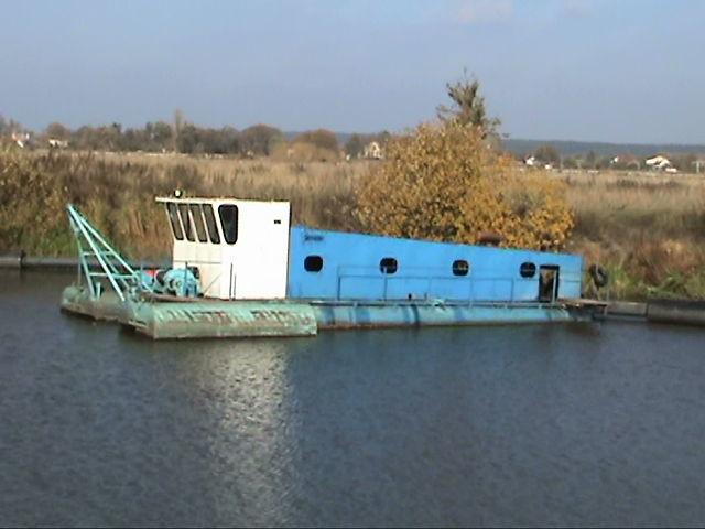 NSS Zemsnaryad 1600/25 v nalichii excavator plutitor