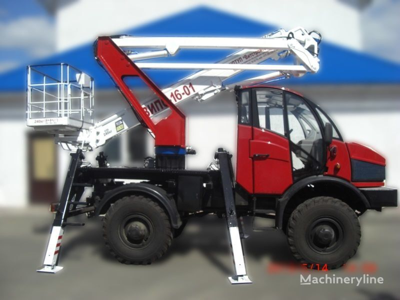 Lifting Machines AGP VIPO-16-01-02 Silant nacelă pe camion