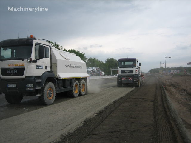 MAN amag cement spreader MAN TGS 33.440 - 6x6 reciclare asfalt nou