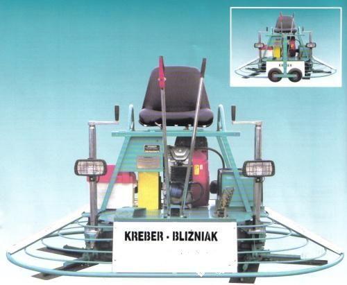KREBER K-436-2-T Blizniak slefuitor de beton nou