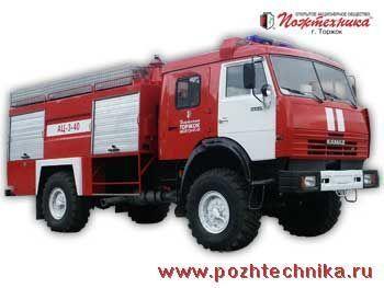 KAMAZ AC-3-40    mașină de pompieri