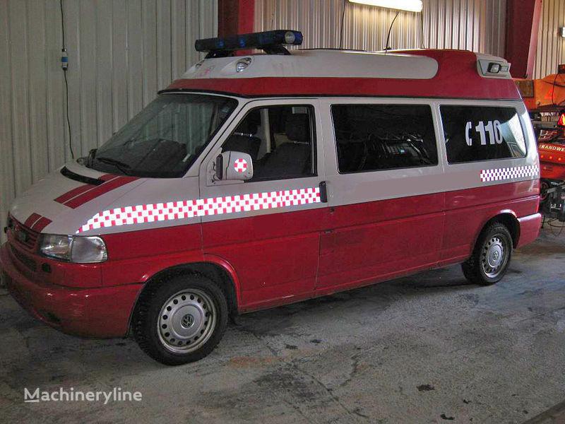 volkswagen T-4 mașină de pompieri