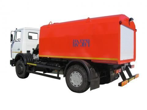 MAZ KO-564-30  maşină de desfundat canale