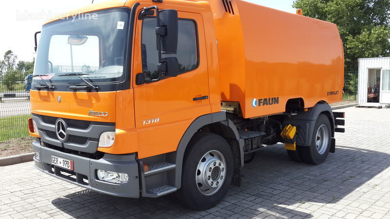 FAUN VARZ-MV-1318-06 maşina de măturat stradă nou