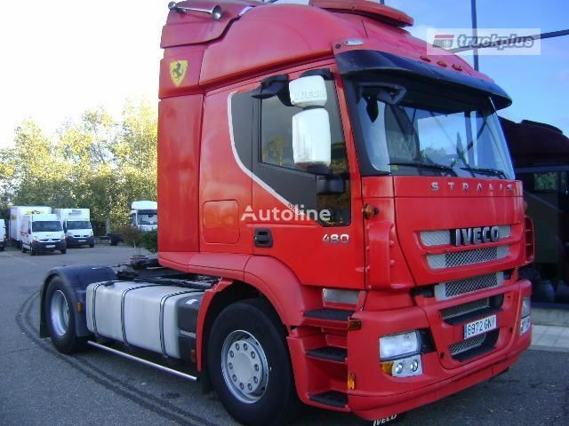 IVECO STRALIS AS 440S48 autotractor