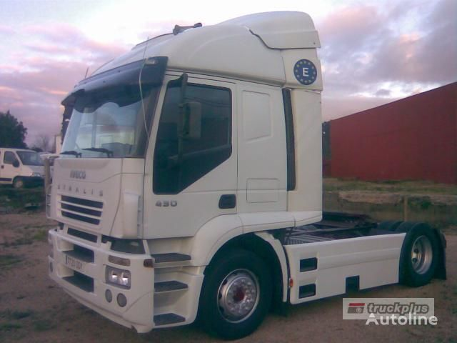 IVECO STRALIS AT 440S43 autotractor