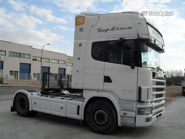 SCANIA R124 L470 autotractor