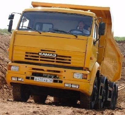 KAMAZ 65201 autobasculantă nou