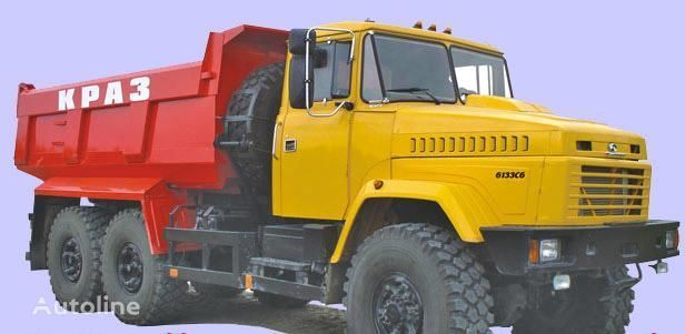 KRAZ 6133C6  autobasculantă nou