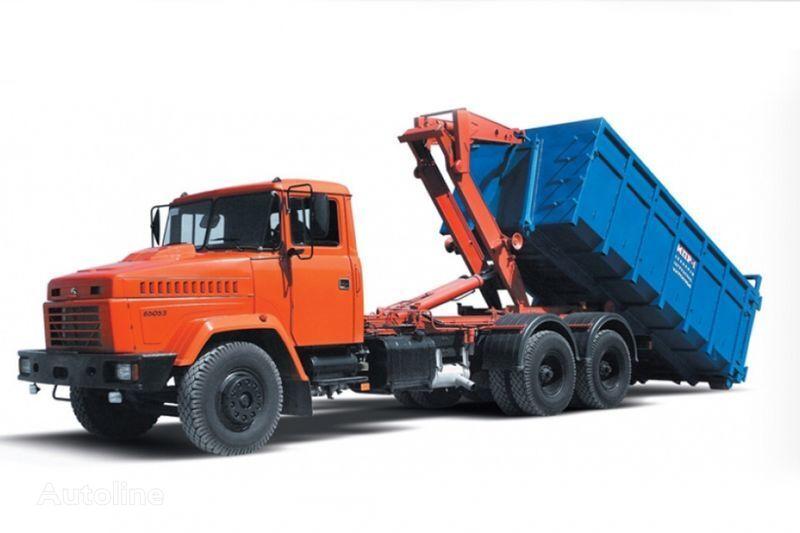 KRAZ 65053 MPR-1  camion cu cârlig