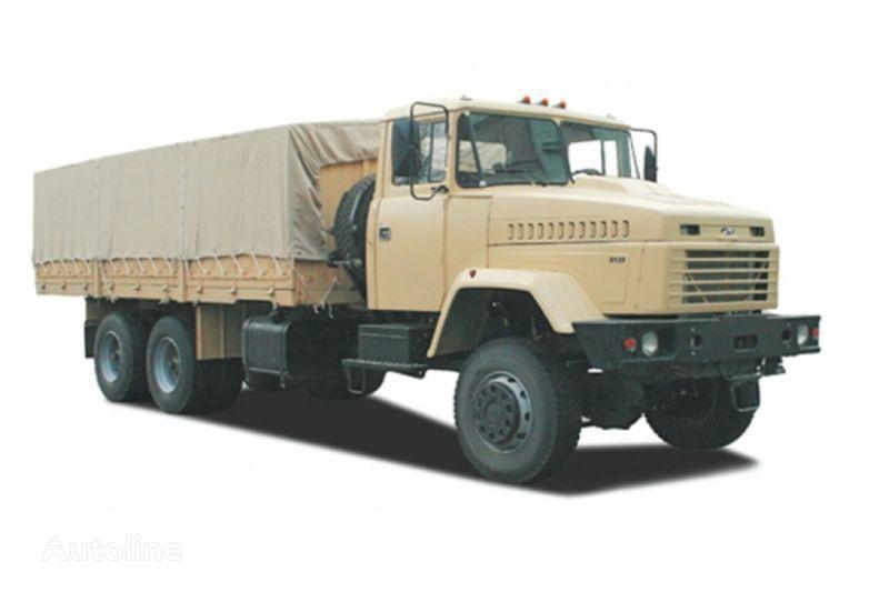 KRAZ 6135V6 camion cu prelata