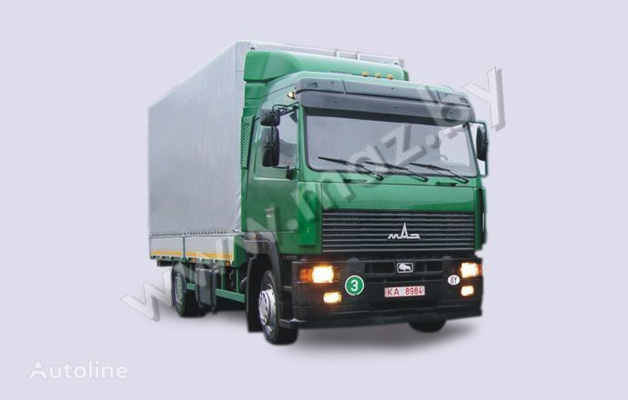 MAZ 5340A8 camion cu prelata
