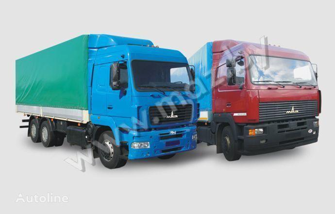 MAZ 6312 (A5, A8, A9) camion cu prelata