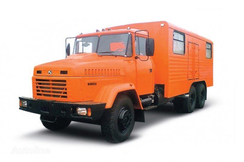 KRAZ 65053 masterskaya  camion militar
