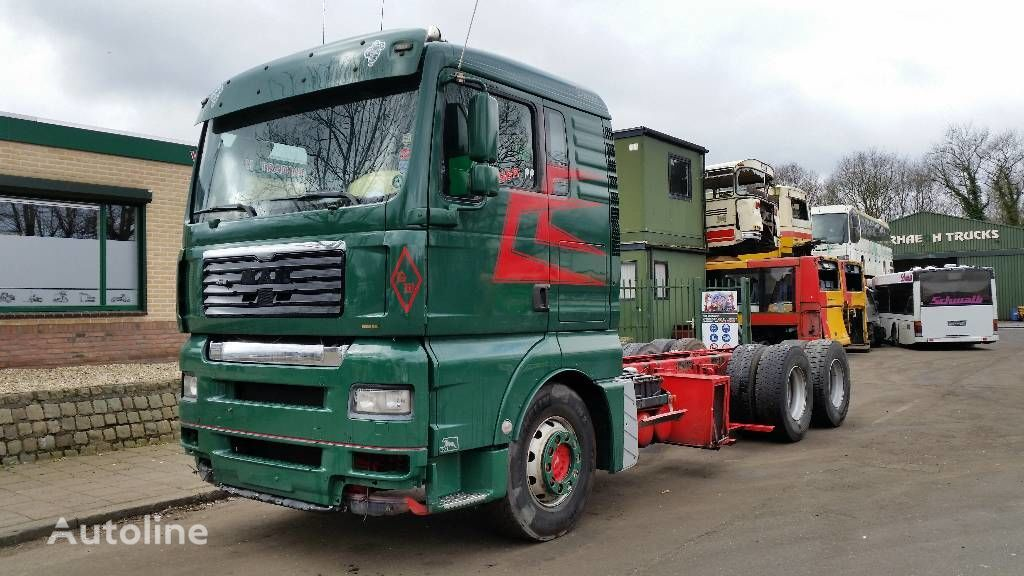 MAN TGA 28.480 camion şasiu