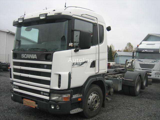 SCANIA R164 580 camion şasiu
