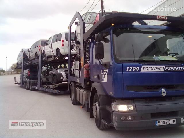 RENAULT PREMIUM 420 camion transport auto