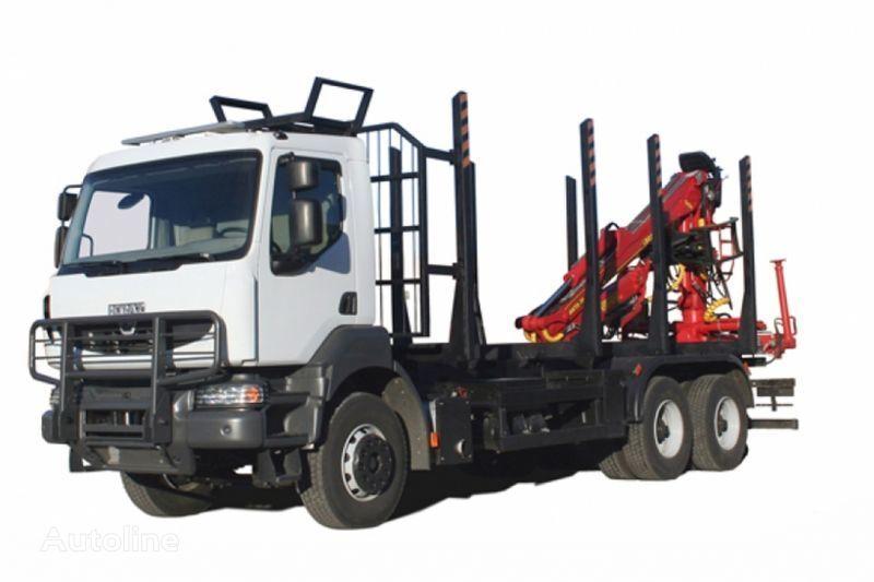 KRAZ M19.2R  camion transport de lemne