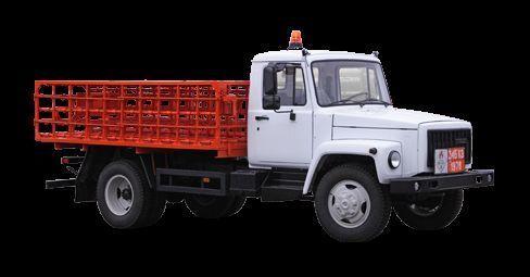 GAZ KT-602-01 dropside camion nou