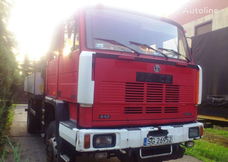 JELCZ 442 dropside camion