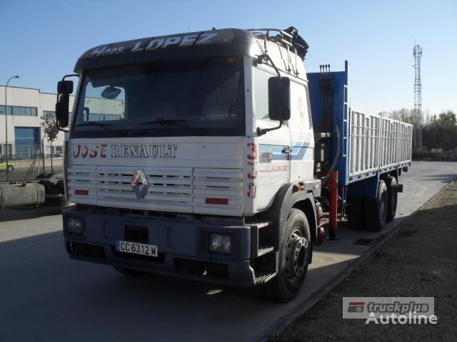 RENAULT MANAGER DG 330 dropside camion
