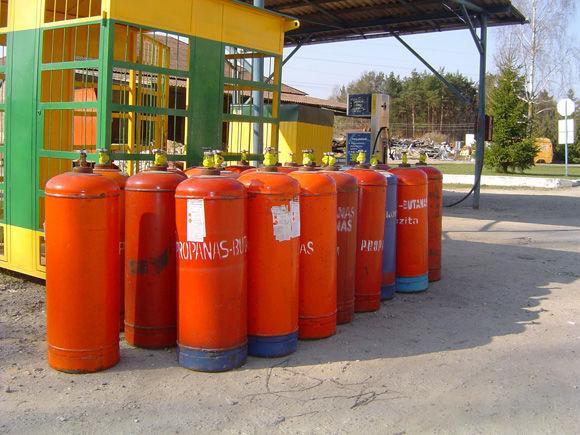 ZBA LPG cylinders PROPAN BUTAN cisternă LPG