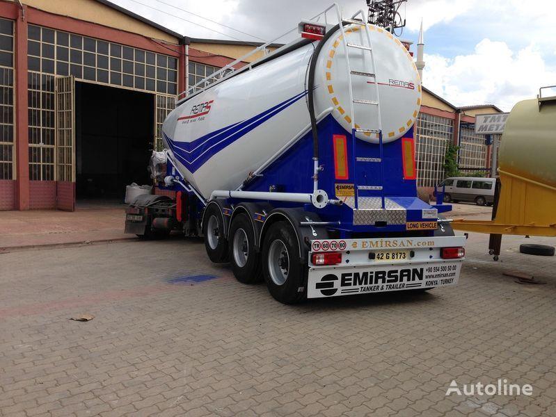 EMIRSAN Manufacturer of all kinds of cement tanker at requested specs  cisternă transport ciment