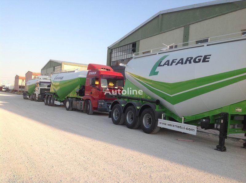 LIDER NEW 2017 YEAR LIDER TRAILER cisternă transport ciment nouă