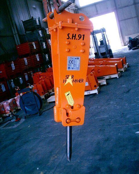 STAR Hammer SH 91 ciocan hidraulic nou