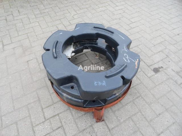 Hinterradgewichte CNH 227 kg contragreutate nou